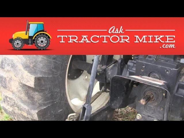 How to Make a Tractor Safer on Hills