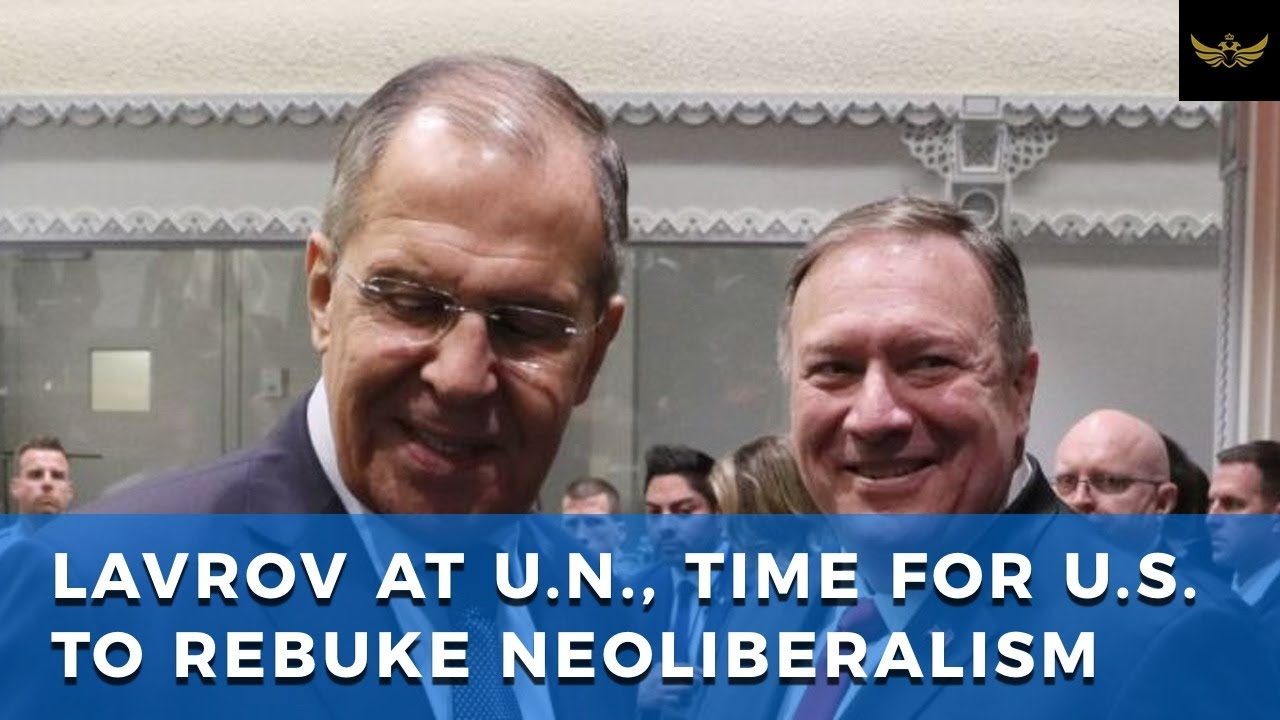 Lavrov at UN General Assembly: China 'alliance' & call for US to rebuke neoliberalism