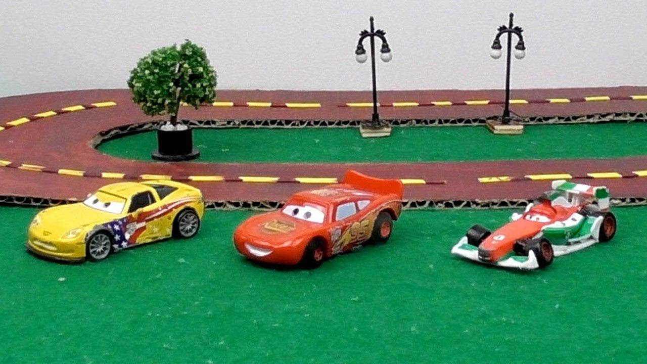 Diy Cardboard Road Track Fro Racing Cars Toys For Kids Easy And