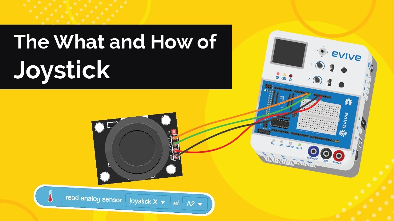 What is Joystick - Working, Connections, Interfacing & Uses   Electronics for Beginners