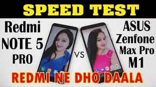 Redmi NOTE 5 PRO vs ASUS Zenfone Max Pro M1 - SPEED TEST