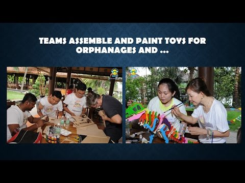 Amazing Corporate Holiday combined with Teambuilding, Charity & Fun - in Vietnam.