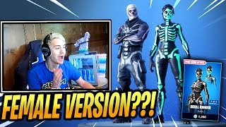 NINJA REACTS *NEW* SKULL RANGER & *OG* SKULL TROOPER BACK! - Fortnite Epic & Funny Moments (Fortnite
