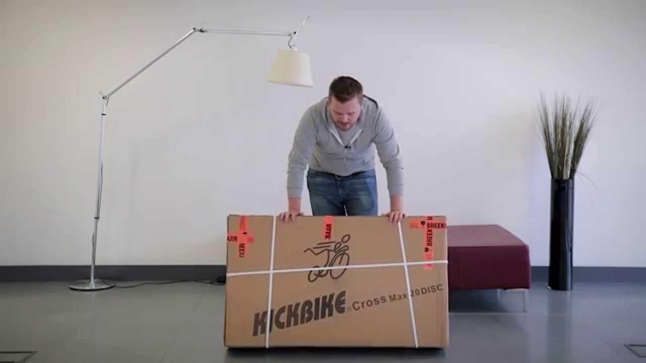 Kickbike : Cross Max 20 Disc Unboxing Video