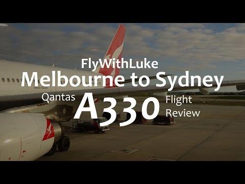 Qantas A330 - Melbourne to Sydney - Economy Flight Review