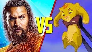 Lion King vs. Aquaman - SCENE FIGHTS!