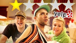 Download Staying at The WORST Reviewed Hotel in my City (1 STAR) Mp3 and Videos