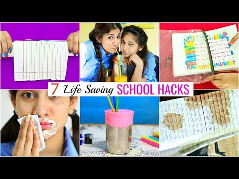 7 LIFE Saving SCHOOL Hacks for Students/Teenagers | #Budgets #Roleplay #Sketch #MyMissAnand #Anaysa thumbnail