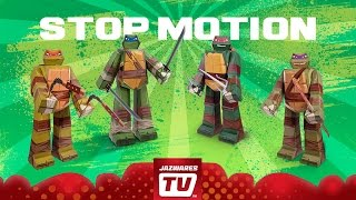 Teenage Mutant Ninja Turtles Team Ninjas! Papercraft