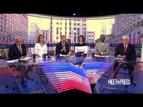 Full Panel: Midterm Enthusiasm Turnout Approaches 'Presidential' Levels | Meet The Press | NBC News