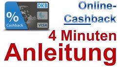 DKB Online Cashback ❶ Anleitung