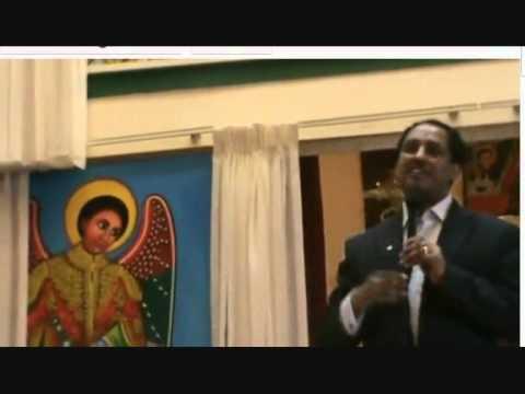 Download Abebe Gelaw claimed that St Gabriel told him to speak at G8