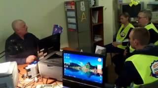 видео Техосмотр ЮВАО заезд со стороны МКАД
