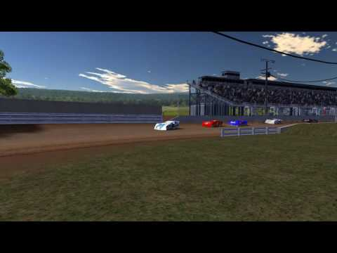 rFactor DWD Late Models at Port Royal Speedway Tacky Track