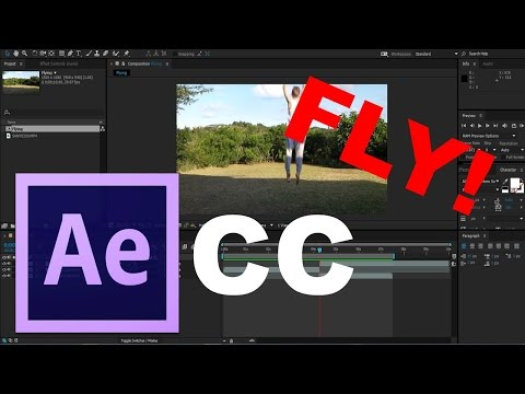Adobe After Effects CC - Flying Tutorial