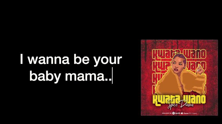 spice diana  kwata wano official lyrics video