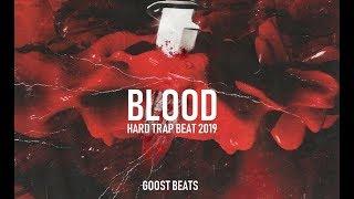 """B L O O D "" Hard Trap Beat Instrumental   Dark Rap Hip Hop Freestyle Beats"