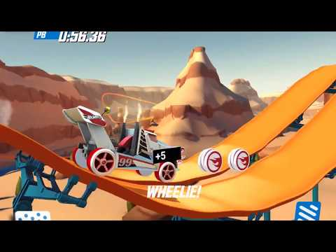 HOT WHEELS RACE OFF Game Best and Fastest Cars from All Sets Unlocked Gameplay Android / iOS