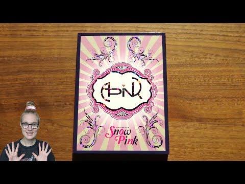 Unboxing Apink 에이핑크 2nd Korean Mini Album Snow Pink 스노우 핑크