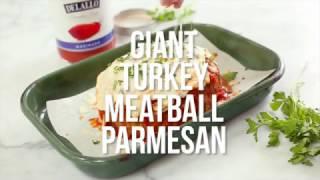 Skinnytaste Giant Turkey Meatball Parmesan Recipe