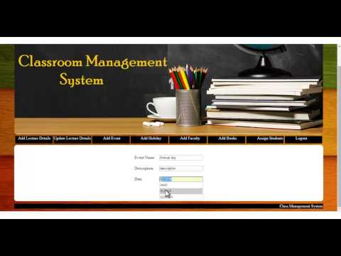 Class Management System Project