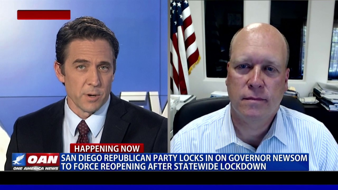 San Diego Republican Party locks in on Gov. Newsom to force reopening after statewide lockdown