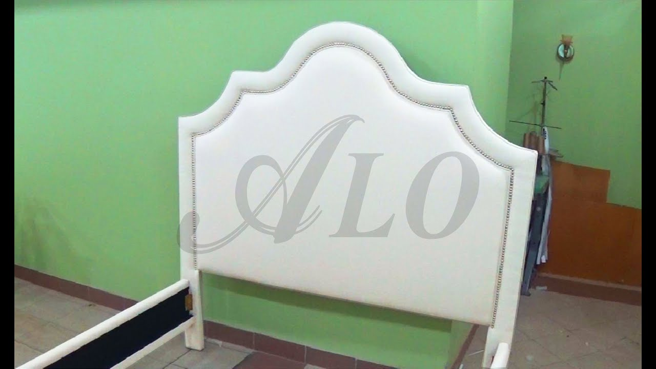 How To Upholster A Headboard With Decorative Nails Alo Upholstery