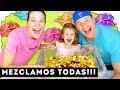 MEZCLAMOS TODAS LAS PATATAS DEL SUPER 🥔MEZCLANDO TODAS LAS PAPAS | Yippee Family