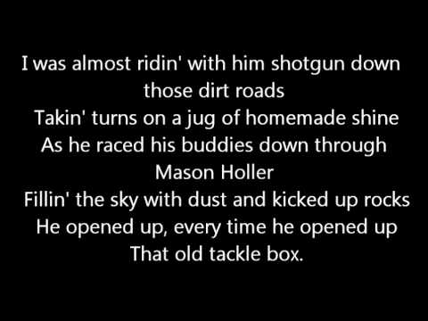 Luke Bryan Tacklebox Lyrics