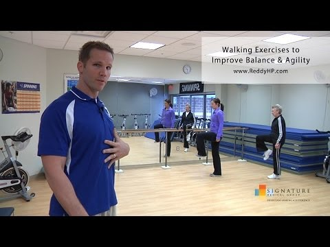 Walking Exercises to Improve Balance & Agility