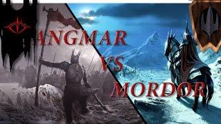 BFME: Edain Mod 4.4.1 1v1 Angmar Vs Mordor (Arnor Map)