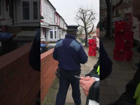 Brent Parking Enforcement Officer behaving badly