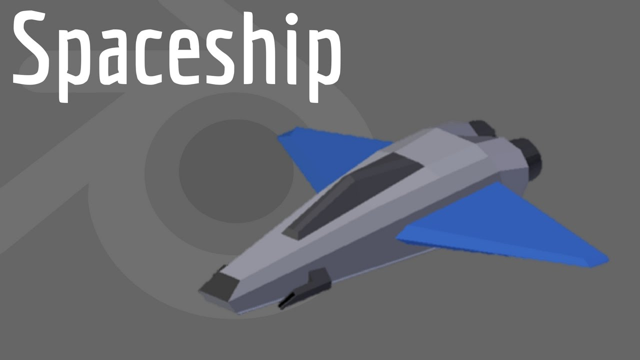 How to Model a Spaceship in Blender