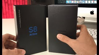 Unboxing and Quick Specs Review of the Samsung Galaxy S8 Active
