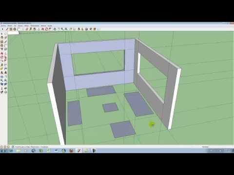 V 23 dise ar una casa la sala en 3d youtube - Disenar casas 3d ...