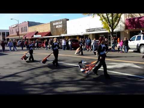 Ogallala High School Marching Band 10/19/2013