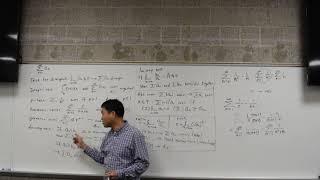 Summary of convergence test example