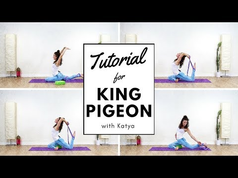 How To Do King Pigeon Pose Eka Pada Rajakapotasana ⭐️