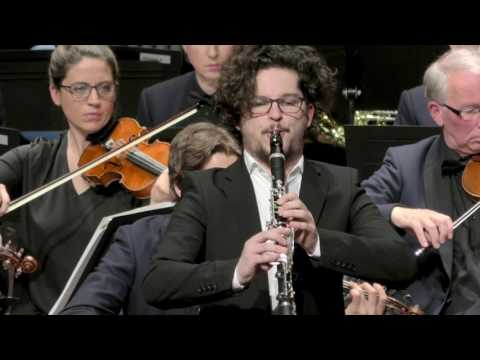 Zilvinas Brazauskas plays Weber n2 Clarinet Concerto