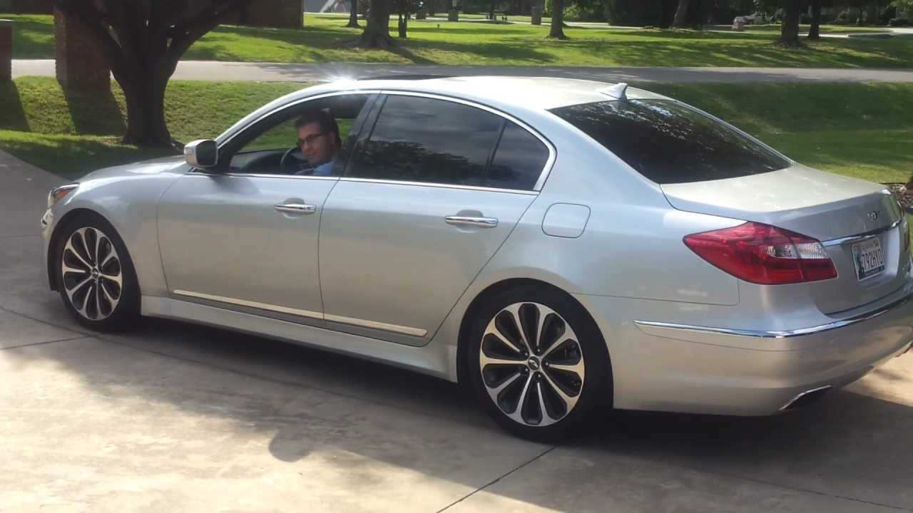 2012 Genesis R Spec   Exhaust Cutout Open/Closed/Partial   YouTube