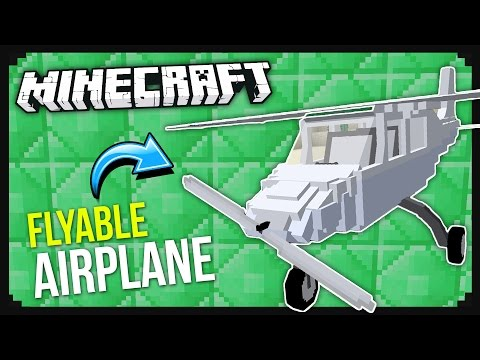 How To Get A Working Plane In Minecraft