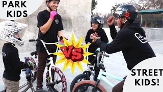 Game of BIKE- Park Kids VS Street Kids!