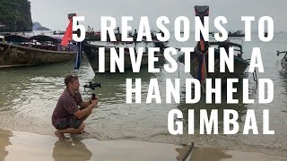 5 Reasons to Use a Handheld Gimbal vs Image Stabilizer