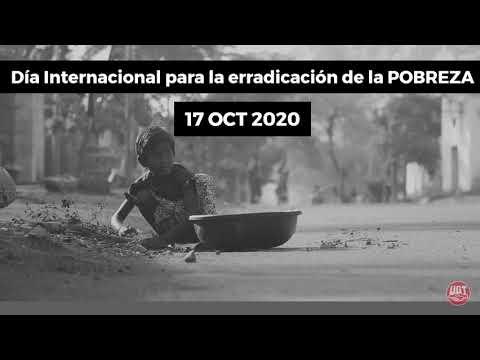 17 octubre: Día Internacional para la erradicación de la pobreza: