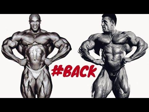 RONNIE COLEMAN vs. DORIAN YATES - THE BEST BACKS EVER !