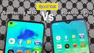 Download Samsung M40 vs Realme 3 Pro Speed Test / Comparison/ Specifications/Antutu Benchmark Scores Mp3 and Videos