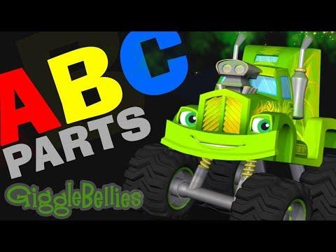 Monster Truck Alphabet Rhyme – Night ABCs + More Monster Trucks