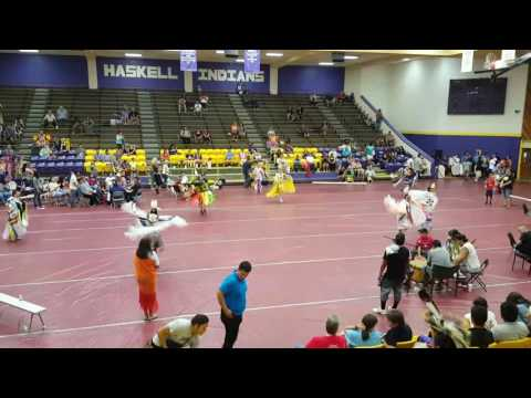Haskell Indian Nations University Fall Welcome back Powwow 2016