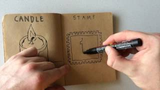 How to Draw a Stamp