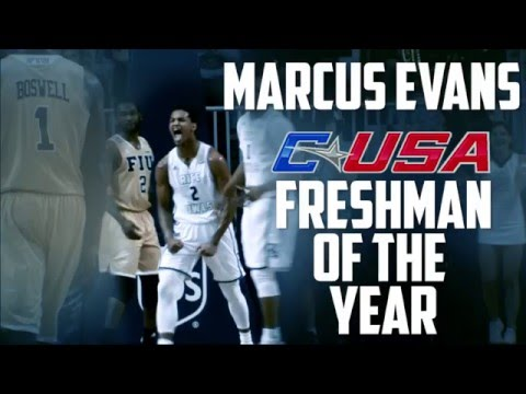 Marcus Evans named CUSA Freshman of the Year!